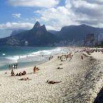 Пляж Ипанема, Рио Де Жанейро Бразилия