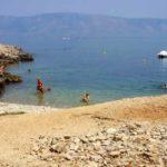 Пляж Лагерь Нудистов, Вброска, Остров Хвар Хорватия