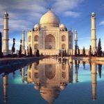 Тадж-Махал, Индия - уникальные места