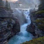 Водопад Атабаска, Канада - уникальные места