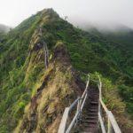 Лестница Хайку, Гавайи - уникальные места