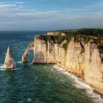 Морские скалы Этрета, Франция
