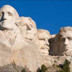 Гора Рашмор (гора с лицами президентов) - уникальные места в США