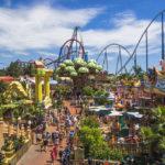 Самые посещаемые (популярные) парки развлечений