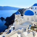 Санторини, Греция - уникальные места по всему миру