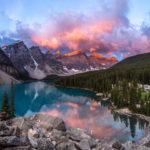 Долина Десяти Пиков (Valley of the Ten Peaks), Канада