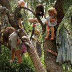 Странный остров кукол в Мексике