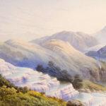 Розовые и белые террасы - геологические чудеса Новой Зеландии