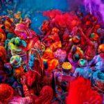 Холи - индуистский фестиваль цвета