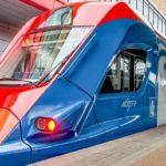Самый высокий уровень железнодорожных пассажирских перевозок в мире