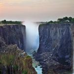 Водопад Виктория - объект всемирного наследия ЮНЕСКО в Замбии