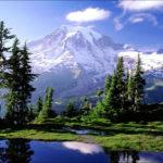 Олимпийские горы, штат Вашингтон, США