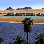 Озера Унианга в пустыне Сахара