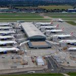 Какие аэропорты в Великобритании наиболее загружены пассажирскими перевозками?