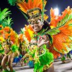 Бразильский карнавал в Рио де Жанейро
