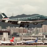 Знаменитый аэропорт Кай Так в Гонконге