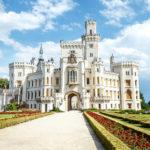 Чешский Виндзор – замок Глубока над Влтавой