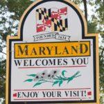Какие штаты граничат с Мэрилендом?