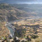 Сибайо, другая сторона Колка-Каньона в Перу