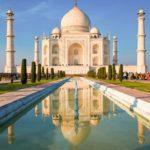 Когда был построен Тадж Махал?