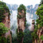 Парк Чжанцзяцзе - Горы из фильма «Аватар», Китай