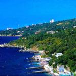 Алупка - город на южном берегу Крыма